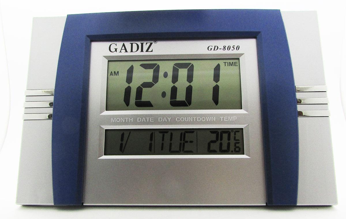 Reloj digital pared escritorio termomet gadiz numero - Reloj gigante pared ...