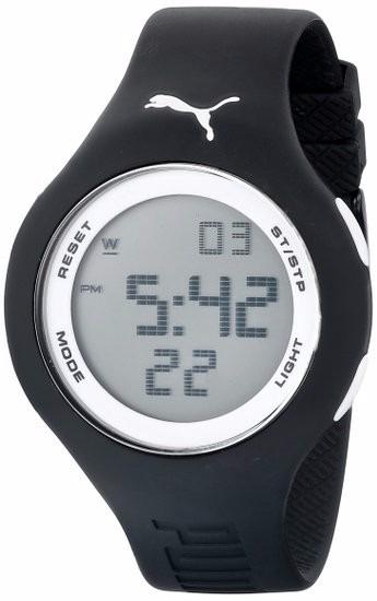 e8e5feb55678 Reloj Digital Puma Unisex  Negro Con Cara Blanca Pu910801017 ...