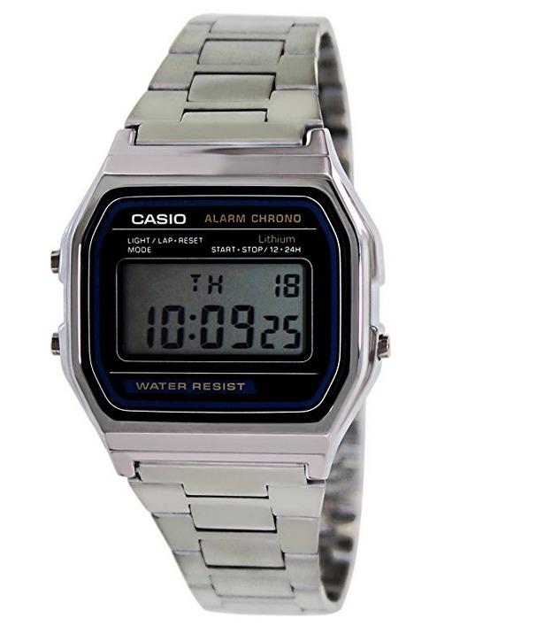 c3484499cabf Reloj Digital Resistente Al Agua Casio A158wa-1 Para Hombres ...
