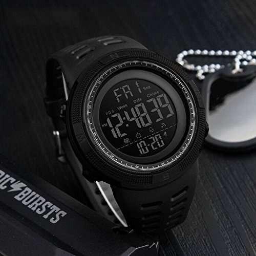 53e6776274a8 Reloj Digital Skmei 1251 Color Negro Envio Gratis Garantia 1 -   54.900 en  Mercado Libre