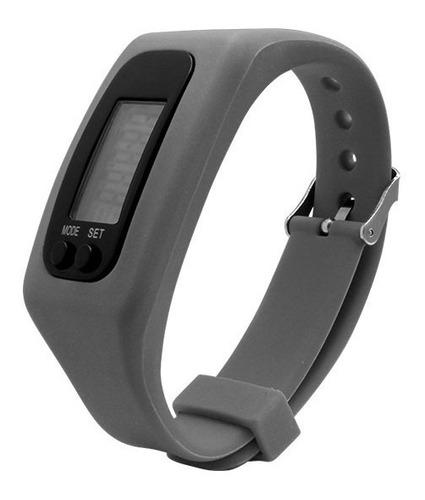 reloj digital smartband podometro cuenta pasos calorias