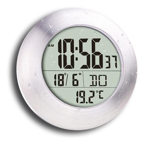 reloj digital termómetro ideal para baño luft rtd840