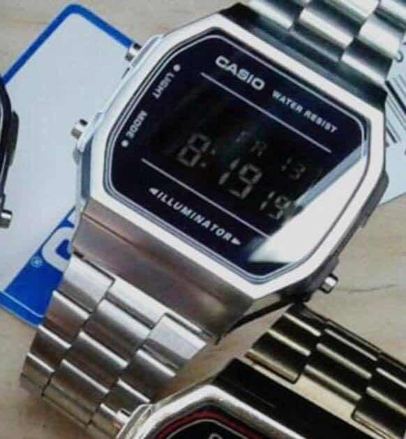 9ed43985cf33 Reloj Digital Unisex Mate Colores A168 Premium Luz Fuerte -   499.00 ...