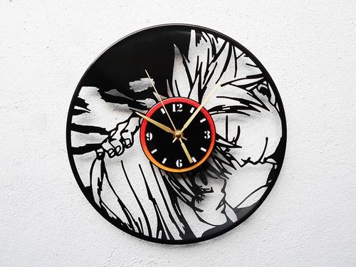 reloj disco vinil vinilo lp fairy tail natsu dragneel lucy