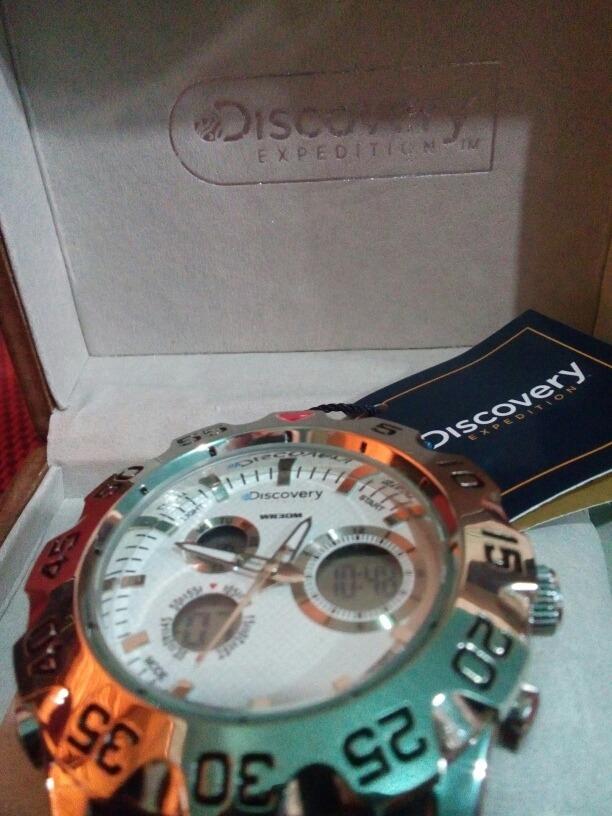 7339e2be56f7 Reloj Discovery Expedition -   750.00 en Mercado Libre