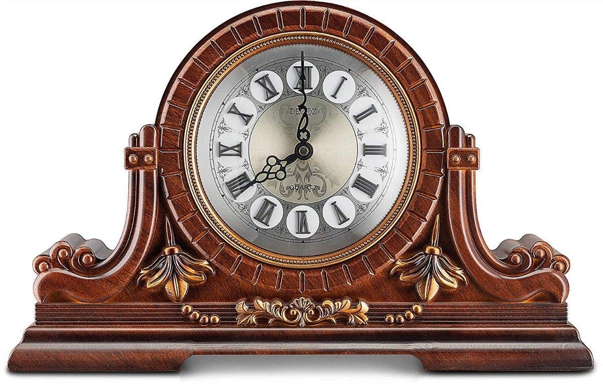 Reloj Diseño Retro Antiguo De Mantel Con Números Romanos