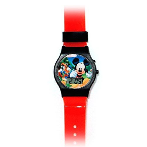 elige auténtico mejor elección mejor selección Reloj Disney Mickey Club Digital Lcd Para Niños