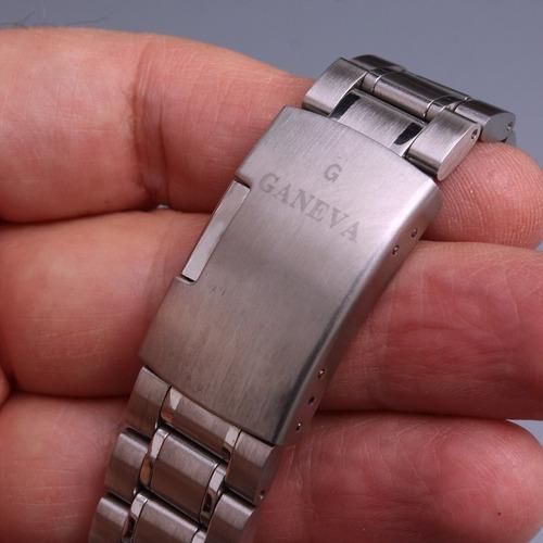 reloj diver acero automatico geneva blue .maquina japon