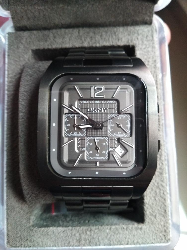 0ff5cac24d7e reloj dkny caballero poco uso acero inoxidable. Cargando zoom.