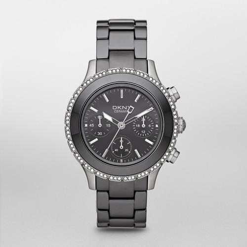 reloj dkny ceramic black westside