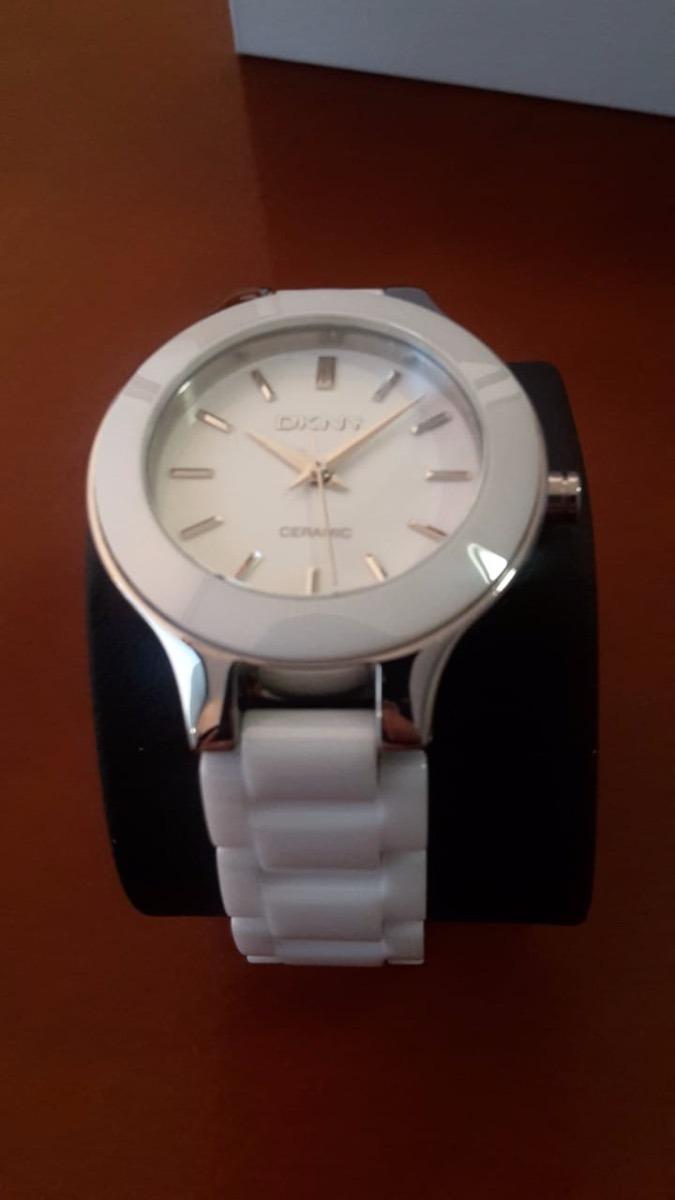 cd39a75f45f9 reloj dkny ceramic blanco dama. Cargando zoom.