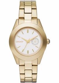 822d9a847618 Reloj Dkny Dorado Dama - Reloj de Pulsera en Mercado Libre México
