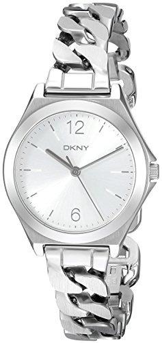 Ny2424 Mujer Dkny Plateado Parsons Para Reloj ALRj54