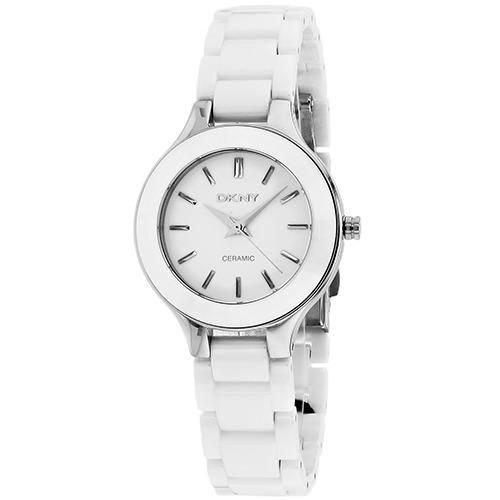 Reloj Dkny Para Mujer Ny4886 Blanco Cerámico De Cuarzo -   5 4955bd054dd4