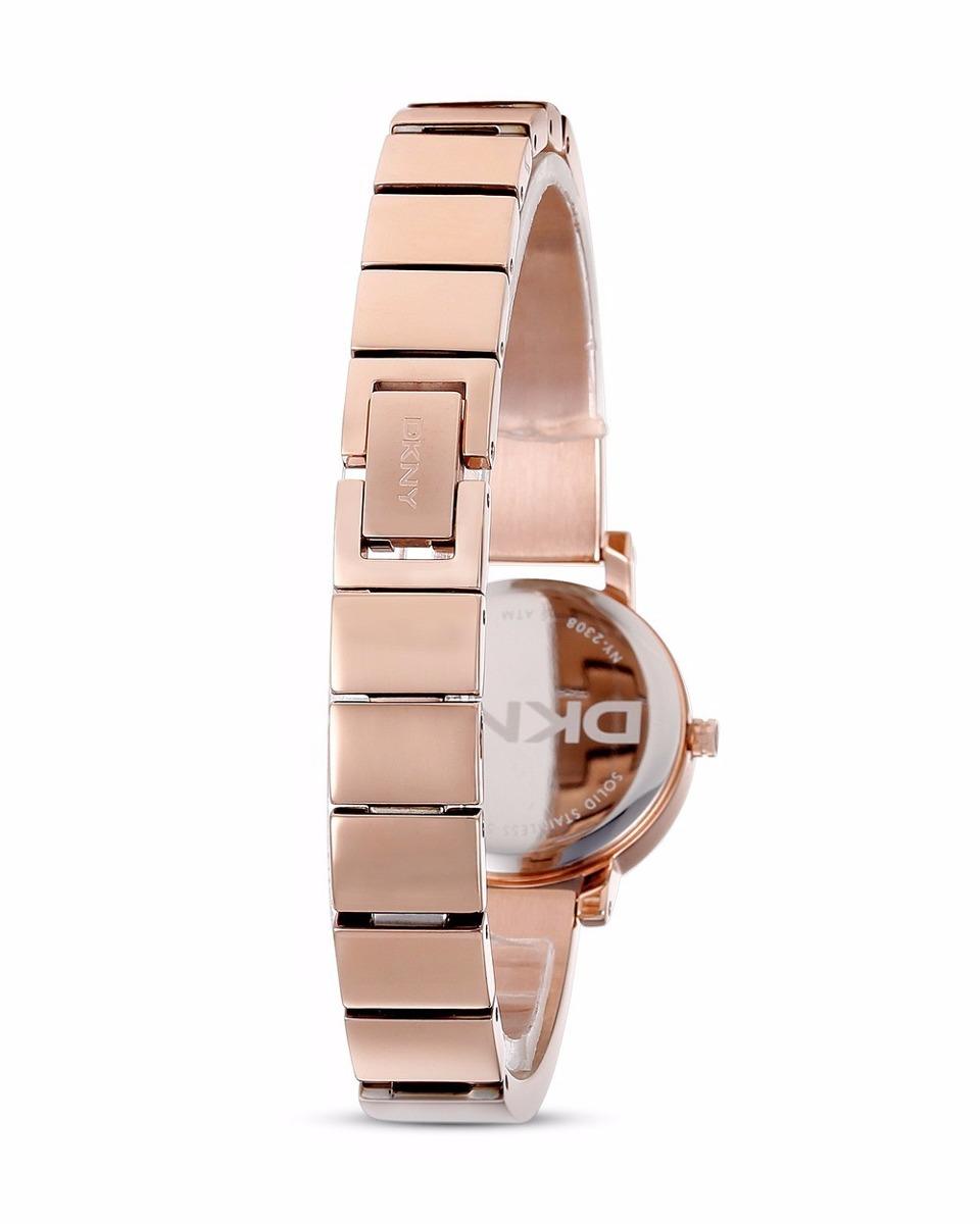 fe86130d53af reloj dkny soho ny2308 para dama acero oro rosa 100%original. Cargando zoom.