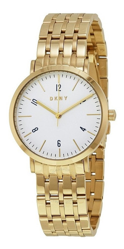reloj dkny stainless steel gold minetta