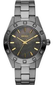 reloj dkny stainless steel gunmetal nolita