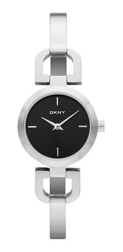 reloj dkny stainless steel silver reade