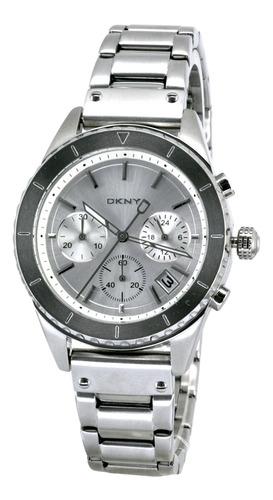 reloj dkny stainless steel silver/steel bowery