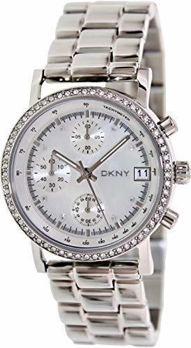reloj dkny stainless steel silver/steel lexington