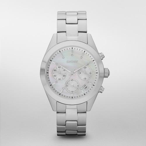 reloj dkny stainless steel silver/steel nolita