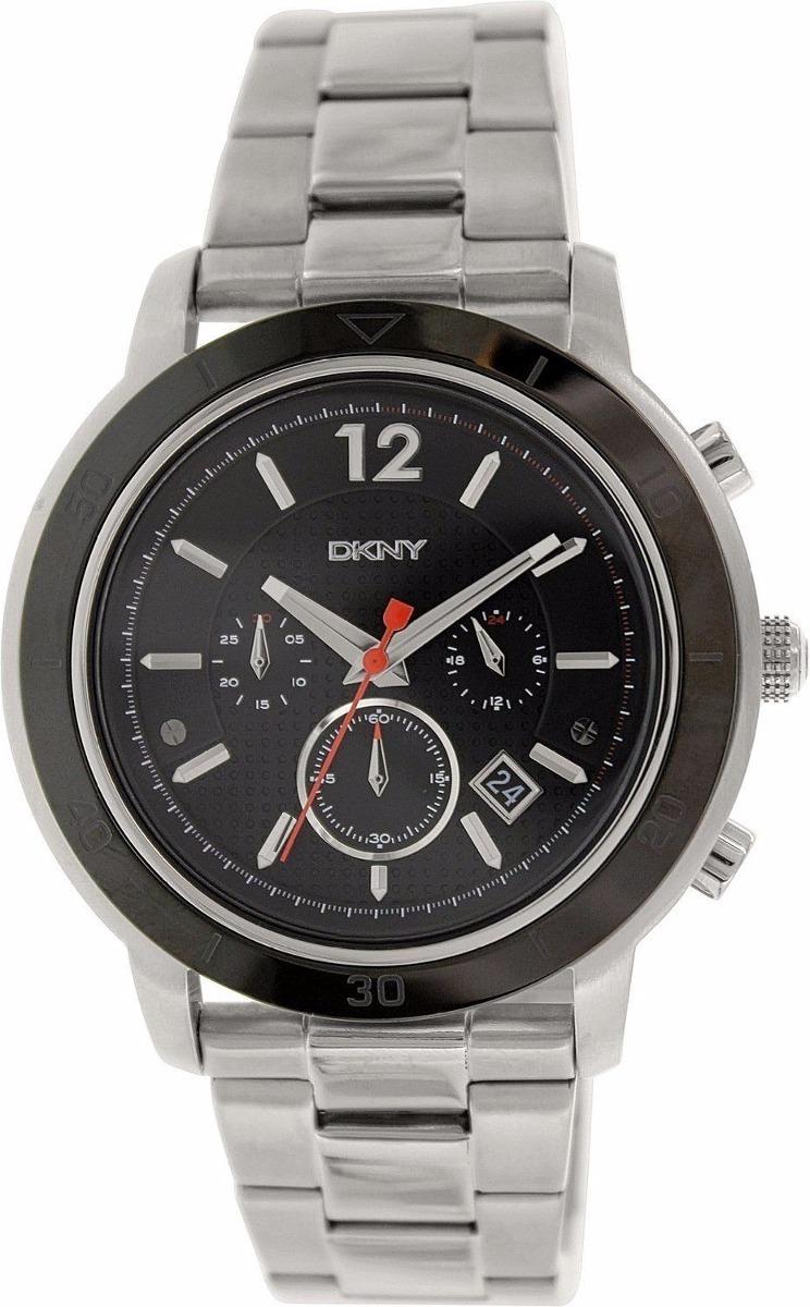 754f4a45b166 reloj dkny tompkins ny2164 chrono acero plateado caballero. Cargando zoom.