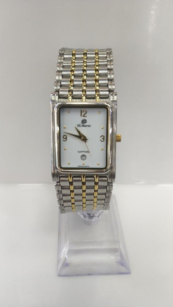 Reloj D'mario Cuadrado Malla Caballero Original -   379.990 en ... 67e0026b380f