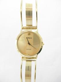 D'mario HombreEnchapado Oro Original En Reloj WHD9EY2I