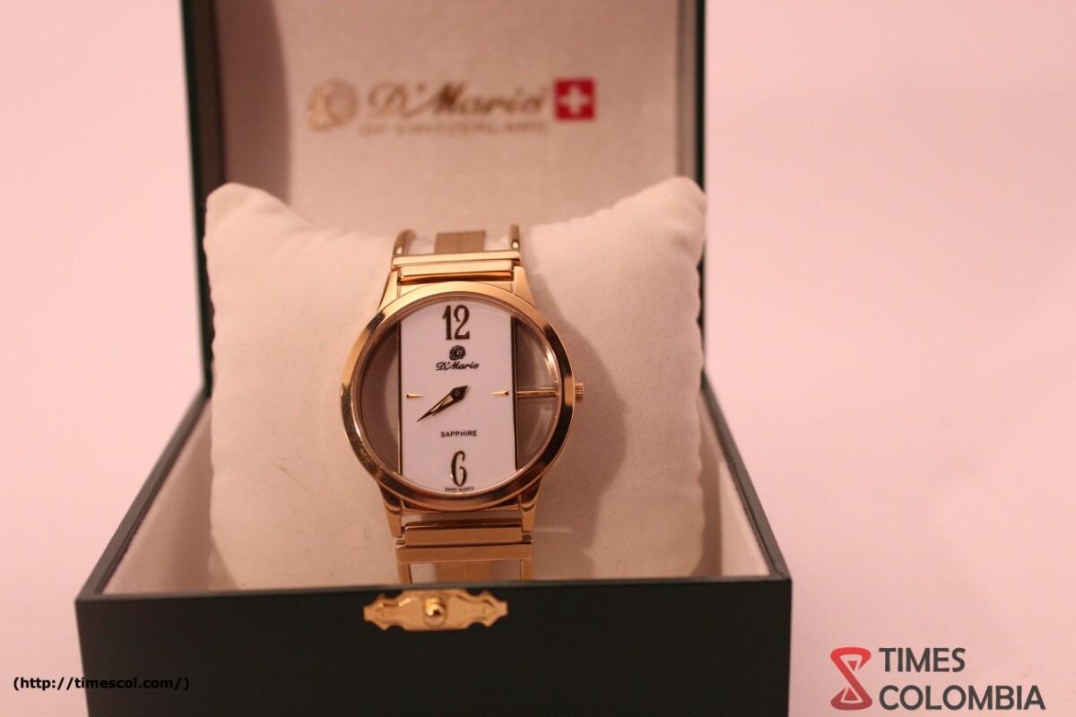 Reloj D'mario Hombre Ze1168 Doble Zafiro Pulso Esqueleto -   499.000 ... 6cc40a75d967