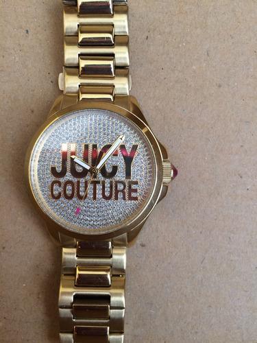 reloj dorado juicy couture