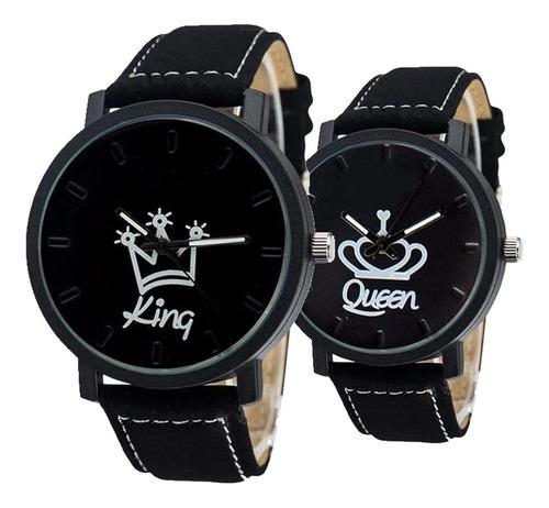 reloj dúo king-queen lote 4 dúos