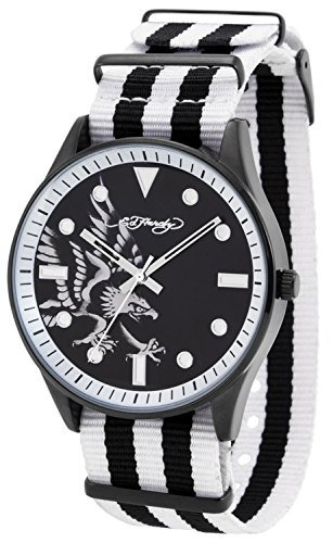 reloj ed hardy eh 1119 maverick eagle - blanco