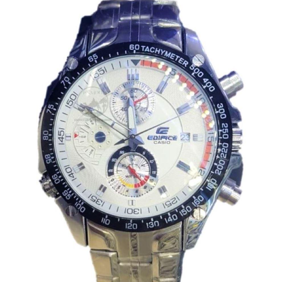 cc68e4156dad reloj edifice casio wr100m cronografo pulso en acero hombre. Cargando zoom.