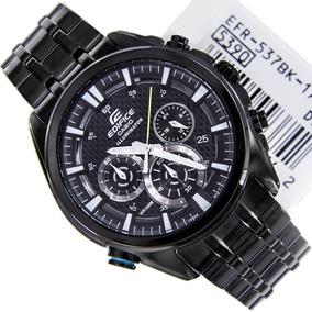46fb9985237a Reloj Casio Edifice Efr 534bkg 1a Negro - Relojes en Mercado Libre Colombia