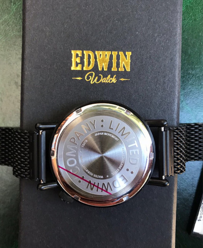 reloj edwin