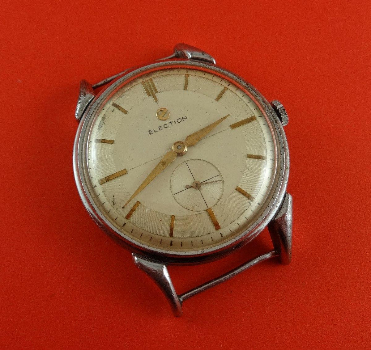 Manual Reloj Caja 35mm Cuerda Restaurar900 Para Election Cal645 00 kiOZPXu