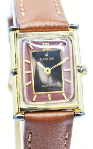 reloj election quartz dama modelo clasico garantía 12meses