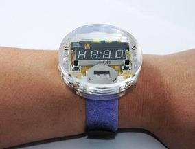 Eléctrico Hombres Diseño Ensambla Reloj Raro Para Unico T3KclF1J