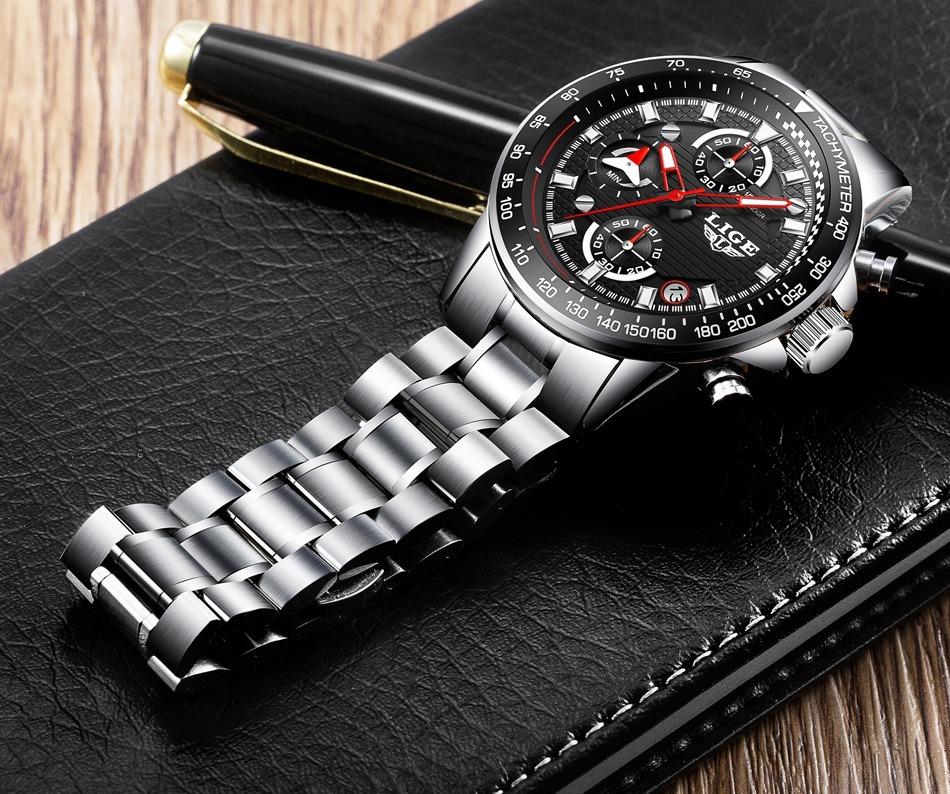 7a8ab5329 Reloj Elegante Caballero Cronografo Militar - $ 153.000 en Mercado Libre