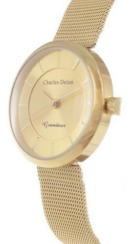 reloj elegante dama charles delon