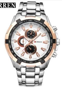 Reloj Elegante Metálico Caballero Moda Lujo Elegante -   499.00 en ... 1cde880cbaab