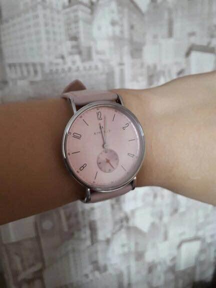 ed2149cee2a7 Reloj Elegante Para Dama Gris Y Azul -   399.00 en Mercado Libre