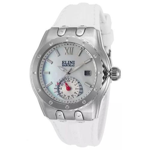 reloj elini barokas 20029-02-wht genesis vision para mujer