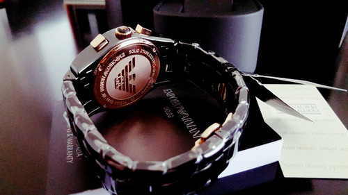 reloj emporio armani ar1410 ceramica - entrega inmediata