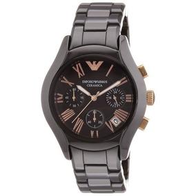 8c066e4e1411 Reloj Armani Ceramica Negro - Joyas y Relojes en Mercado Libre México