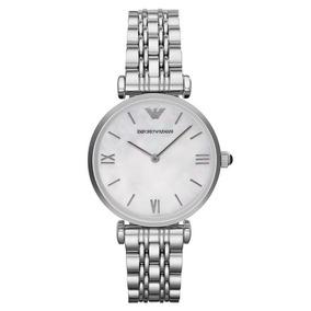 399d20c25461 Reloj Emporio Armani Ar0350 De Hombre Color Plata Hermoso - Joyas y ...