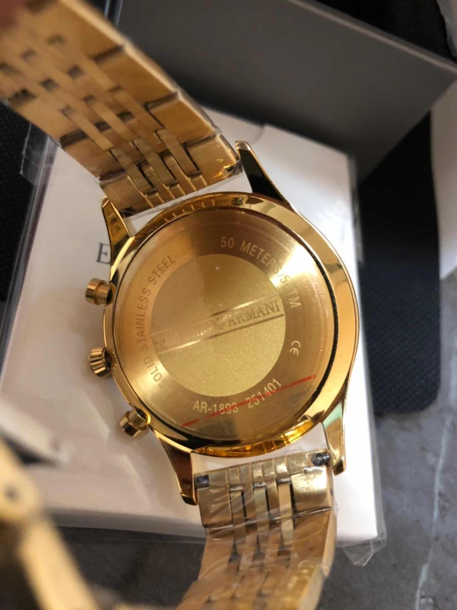 2cfc071c7343 reloj emporio armani ar1893 para caballero nuevo y original. Cargando zoom.