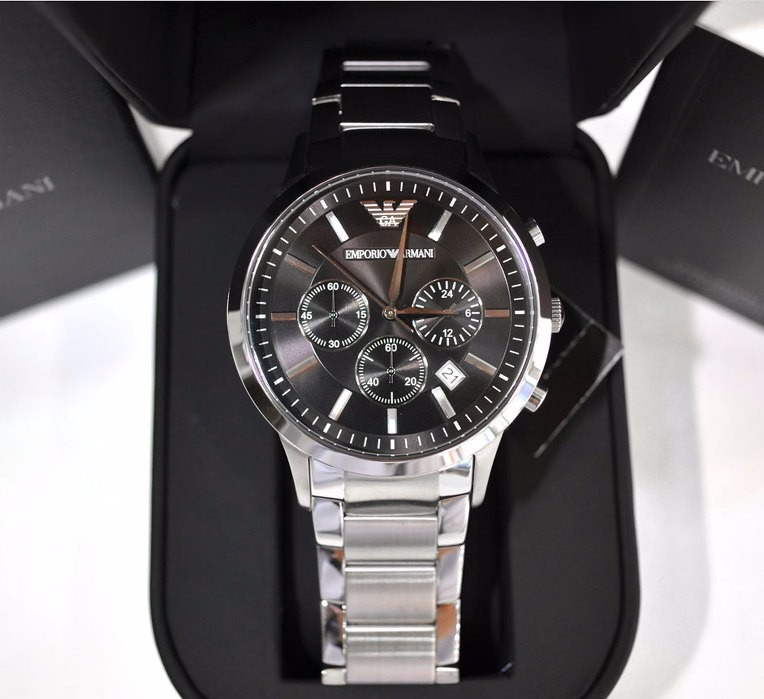 638ee49cf199 Reloj Emporio Armani Ar2434 -original - Cronografo - Acero -   5.199 ...