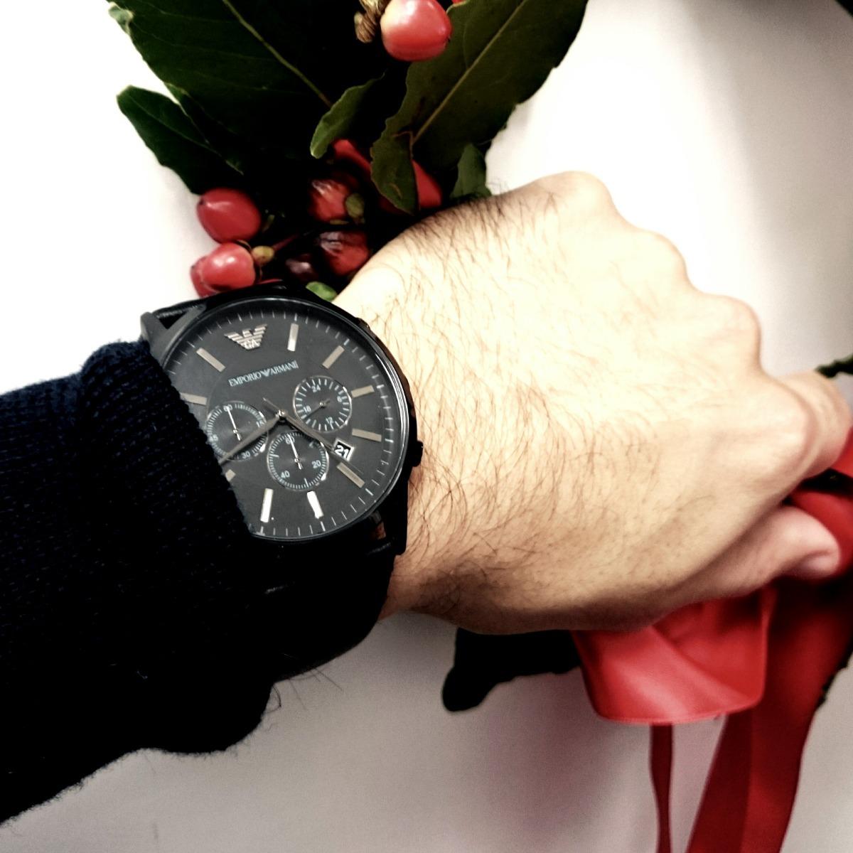 577b49474c1b reloj emporio armani ar2461 negro nuevo en caja. Cargando zoom.