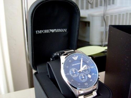 reloj emporio armani ar5860 caballero de lujo! - oferta
